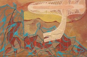 "Examining the Early Waters, 15 of 30 4"" x 6"""