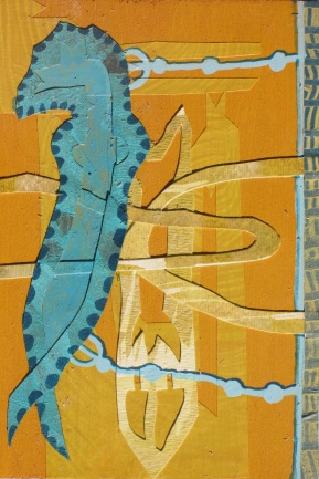 "Examining the Early Waters, 25 of 30 4"" x 6"""